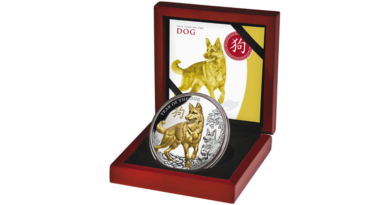 2018-niue-silver-8-dollar-lunar-dog-in-box