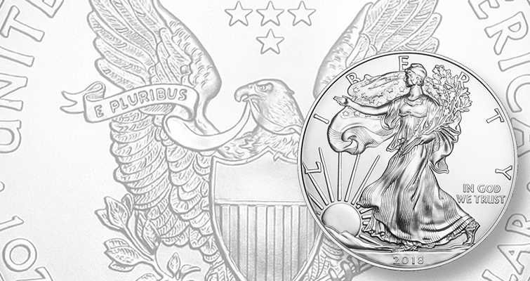 2018 American Eagle silver bullion coin