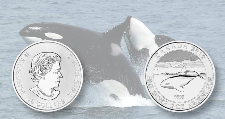 Royal Canadian Mint Lear Capital Celebrate Orcas On New