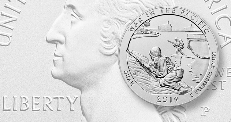 Uncirculated War In The Pacific Silver June 6 Coin World