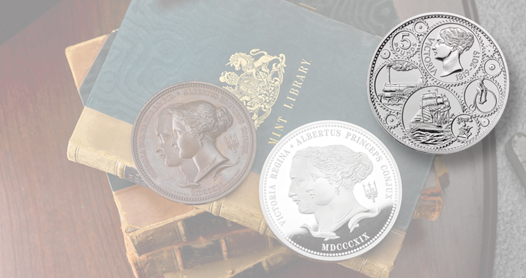 Royal Mint marks Queen Victoria's birth with coins