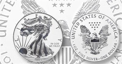 2019-S American Eagle silver dollar