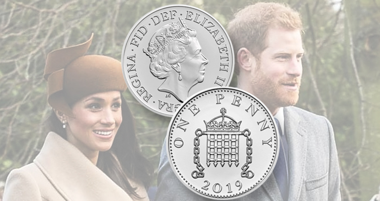 Royal Mint issues commemorative for royal birth