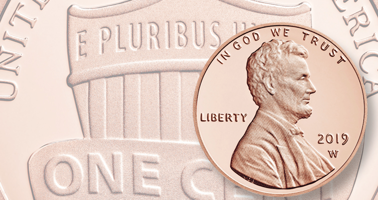 2019 S  Proof cent  sold in mint plastic