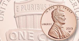 2019 S US Mint Proof Set clad 10 coin w// WEST POINT PENNY pre sale