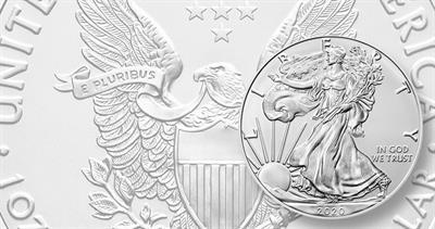 2020 American Eagle silver bullion