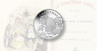 Ebenezer Scrooge coin from Pobjoy Mint