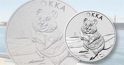 2020 Quokka silver dollar