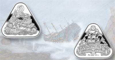 Australia shipwreck coin