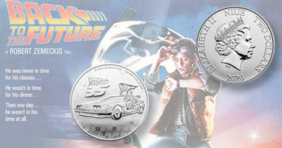 2020 Back to the Future coins