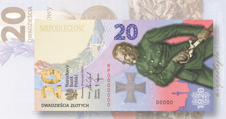 20-zloty note for 2020