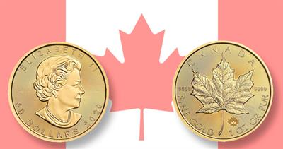 1 ounce gold maple leaf