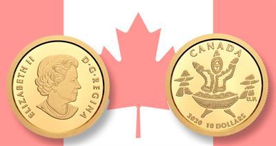 2020 Canada $10 gold coin