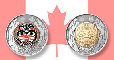 2020 Canda Bill Reid coin