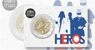2020 2-euro coin honoring medical workers