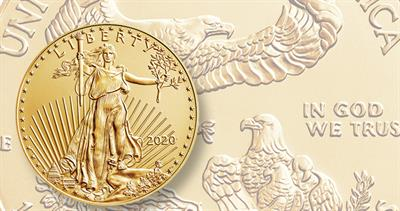 2020 gold American Eagle
