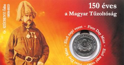 50-forint firefighter coin