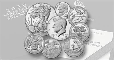 2020 limited edition silver proof set