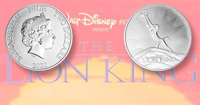 2020 Lion King coins
