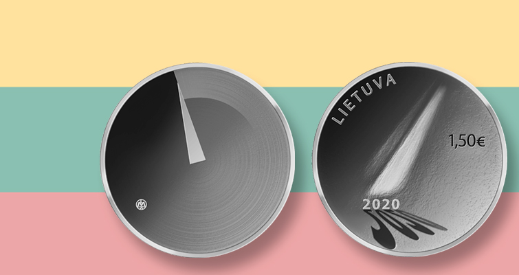 2020 Lithuania coin