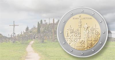 Lithuania Hill of Crosses 2 Euro
