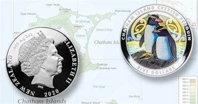 2020 New Zealand penguin dollar