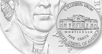 2020-P Jefferson nickel