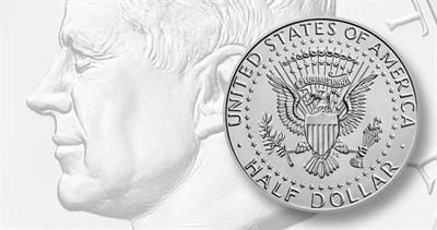 2020-P Kennedy half dollar