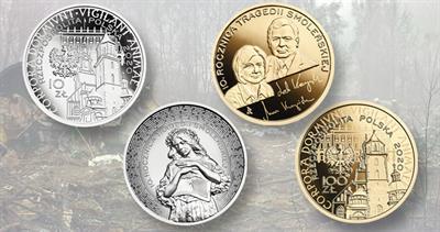 2020 Smolensk coins from Poland