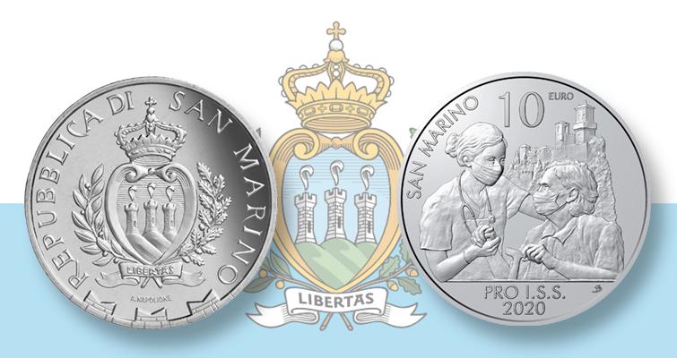 San Marino 10 euro for healthcare worker