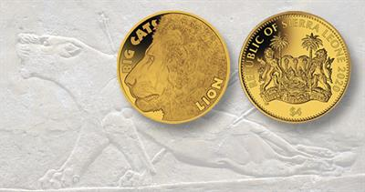 2020 Sierra Leone gold $4 coin