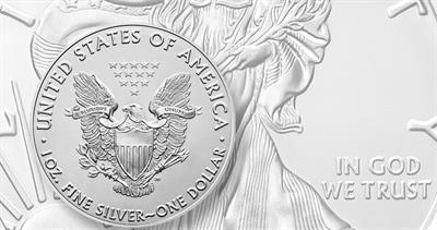 2020 silver American Eagle