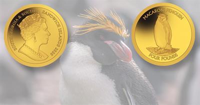2020 Pobjoy macaroni penguin