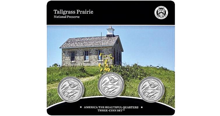 2020 Tallgrass Prairie quarter dollars