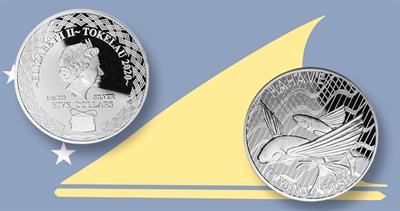 2020 Tokelau Flying Fish coin
