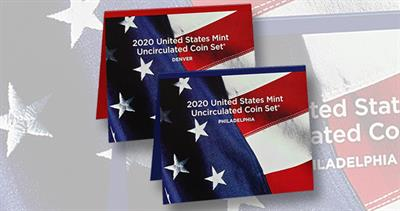 2020 Uncirculated Coin set