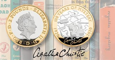 2020 UK Agatha Christie coin