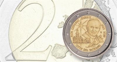 Vatican 2 euro