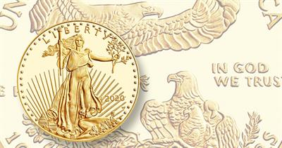 2020-W Proof gold eagle