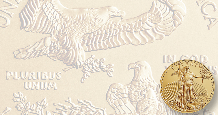 202-W Uncirculated gold Eagle