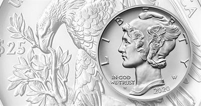2020-W Uncirculated palladium eagle