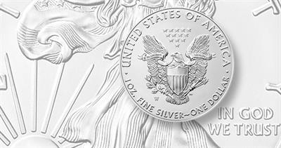 2020-W Uncirculated silver Eagle