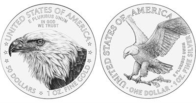 2021-american-eagle-gold-coin-line-art