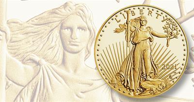 2021 American Eagle gold obverse