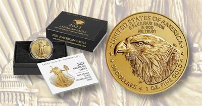 2021 American Eagle gold coin