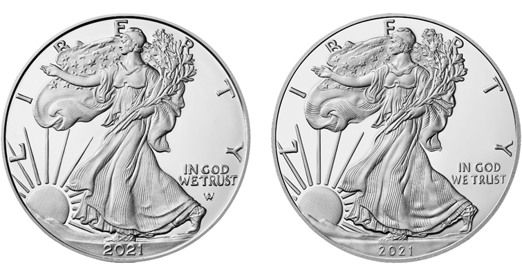 2021 American Eagle silver
