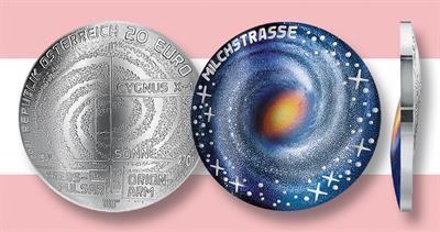 2021 Milky Way 20 Euro Austria