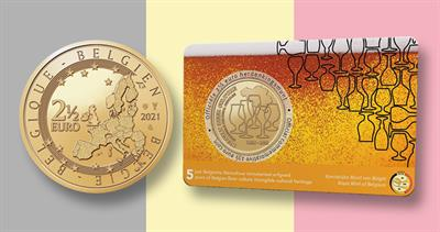 2021 Belgium beer culture coin