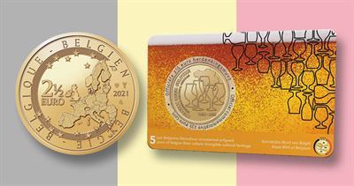 2021 Belgium beer culture coin