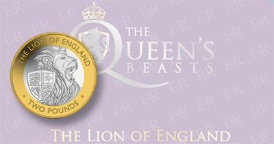 Lion of England for British Indian Ocean Territory